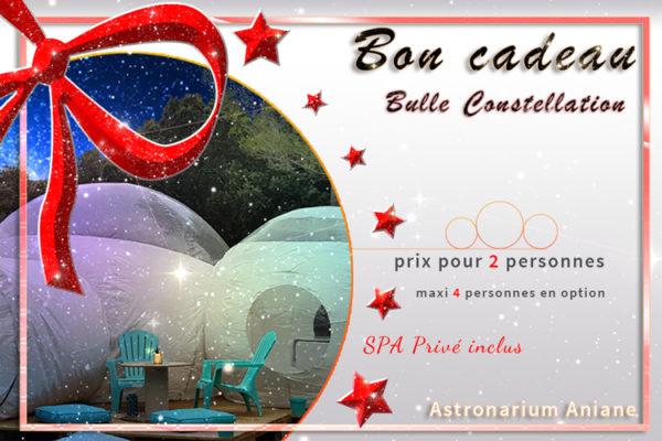 Bon cadeau nuit insolite Constellation